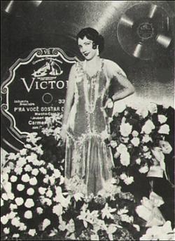 Carmen Miranda в 1930