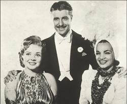 Carmen Miranda, Alice Faye и Don Ameche в 1941