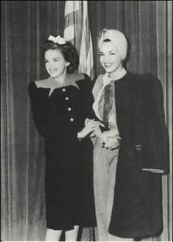 Carmen Miranda и Judy Garland в 1941