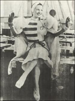 Carmen Miranda в Нью-Йорке в 1939