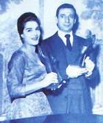 Dalida et Yves Montand