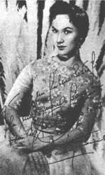 """На фото ее автограф: """"Всему советскому народу, столь мне дорогому шлю самые лучшие пожелания"""""""