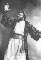 Ф. Шаляпин в роли Бориса Годунова