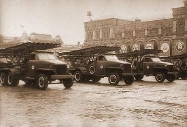 Войска на Параде Победы