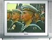 На Параде Победы 24 июня 1945 года. Бойцы Северного флота